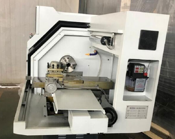 Best Selling Bench Metal Mini CNC Lathe From China